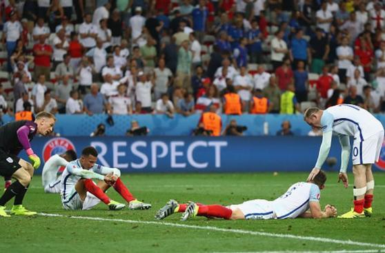 Inglaterra: llanto de una selección tras el fracaso en la Euro
