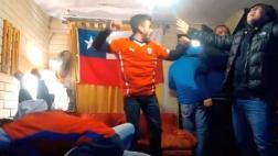 Chile: sufrimiento y euforia de hinchas en tanda de penales