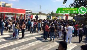 Chiclayo: estudiantes denuncian disparos durante plantón