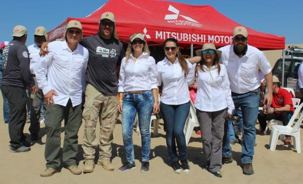 Baja Inka: Mitsubishi se hizo presente en la competencia