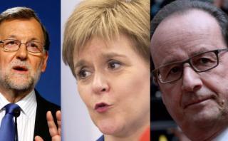 Francia y España: Escocia no puede negociar sobre el Brexit