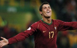 Portugal-Polonia: Cristiano Ronaldo y su acrobático gol en 2007