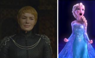 "YouTube: la venganza de Cersei con ""Let It Go"" de fondo"