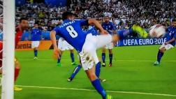 Alemania-Italia: sensacional salvada de Florenzi con el taco