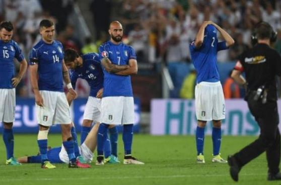 Euro 2016: tristeza y desolación de Italia luego de la derrota