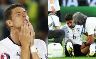 Alemania: Khedira y Gómez se perderán el resto de la Eurocopa