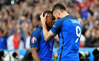 Francia vs. Islandia: Giroud marcó doblete en cuartos de final