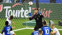 Francia-Islandia: la increíble ataja de Lloris que valió un gol