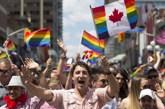 Canadá: Primer ministro participa en la marcha del Orgullo Gay