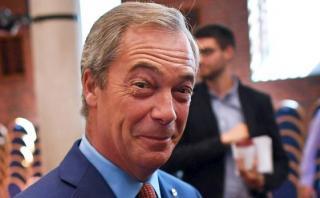 Luchó por el Brexit y renunció al conseguirlo ¿Quién es Farage?