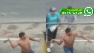 Pachacámac: alertan sobre sujeto que amenaza a vendedores