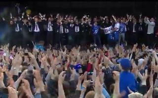 Islandia recibió a sus jugadores como héroes tras Eurocopa
