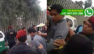 VMT: ladrones de celulares fueron atrapados en José Gálvez