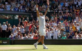 Wimbledon: Roger Federer ganó 3-2 a Marin Cilic y está en semis