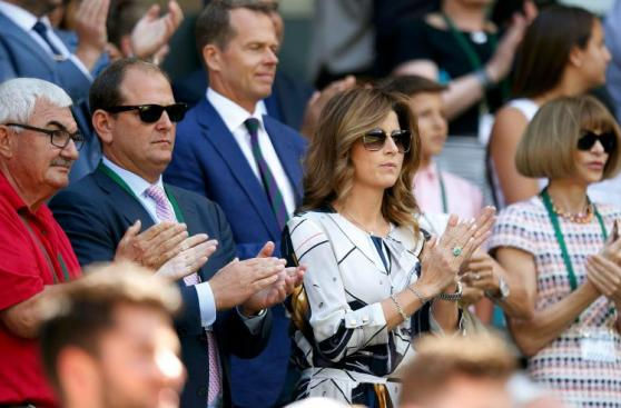Wimbledon 2016: famosos disfrutaron de triunfo de Roger Federer