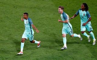 Portugal-Gales: Nani anotó 2-0 tras remate de Cristiano Ronaldo