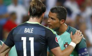 Cristiano y su emotivo encuentro con Bale al final del partido