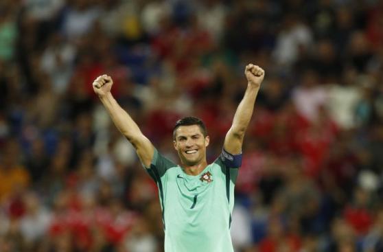 Portugal: la celebración de Cristiano y todos sus compañeros