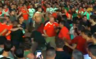 Euro 2016: hinchas de Portugal y Gales se pelearon en Fan Zone