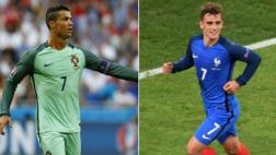Francia vs. Portugal: día, hora y TV de final de Eurocopa