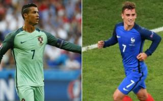 Francia vs. Portugal: día, hora y TV de final de Eurocopa