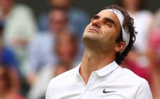 Wimbledon: Roger Federer perdió 3-2 ante Milos Raonic en semis