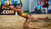 Voleibolista peruana representará a Australia en Río 2016