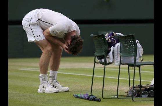 El llanto y la euforia de Andy Murray tras ganar Wimbledon