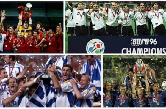Eurocopa: recuerda a los 10 últimos campeones del torneo