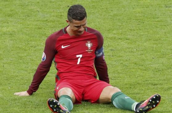Cristiano Ronaldo desconsolado: su llanto al abandonar la final
