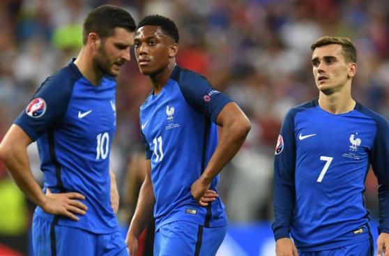 Francia y el dolor de todo un país por perder la Euro en casa