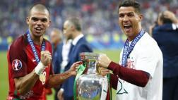 """Pepe sobre Cristiano: """"Teníamos que ganar este partido por él"""""""