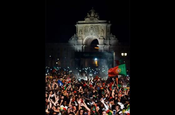 Eurocopa 2016: la explosión de alegría de todo un país [FOTOS]