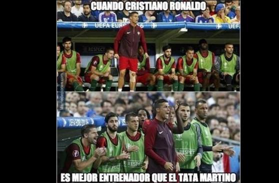 Cristiano Ronaldo: despiadados memes se burlan de su lesión