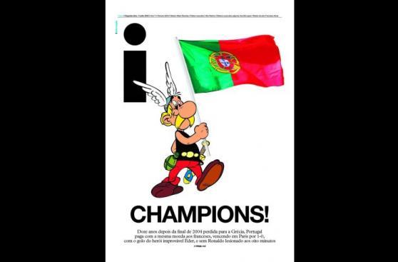 Eurocopa: ¿qué dijo la prensa mundial sobre título de Portugal?