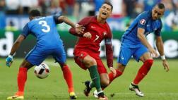 """Iraníes critican a Payet por """"lesionar"""" a Cristiano Ronaldo"""