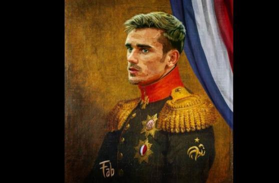 Las geniales pinturas que recrean a los cracks de la Eurocopa