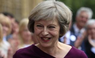 "Virtual primera ministra del Reino Unido: ""Brexit es Brexit"""