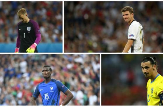 Eurocopa 2016: descubre al peor once del certamen [GALERÍA]
