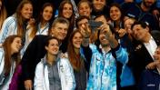 Macri despidió así a los atletas olímpicos que irán a Río 2016