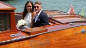 Schweinsteiger y Ana Ivanovic se casaron en Venecia [FOTOS]