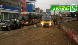 SMP: veredas demolidas por obras no fueron repuestas