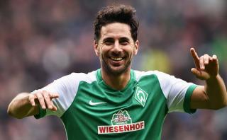 """Claudio Pizarro: """"Me gustaría ser goleador de la Bundesliga"""""""