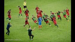 ¿La mejor foto de la Eurocopa o Photoshop? Imagen invade redes