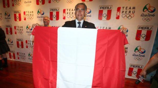 Francisco Boza será el abanderado de Perú en Río 2016