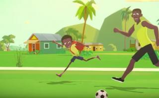 Usain Bolt, el niño que aprendió a volar [VIDEO]
