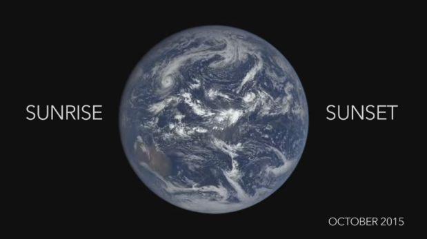 Así es la evolución de todo un año de la Tierra [VIDEO]
