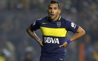 Carlos Tevez pidió licencia en Boca Juniors por eliminación