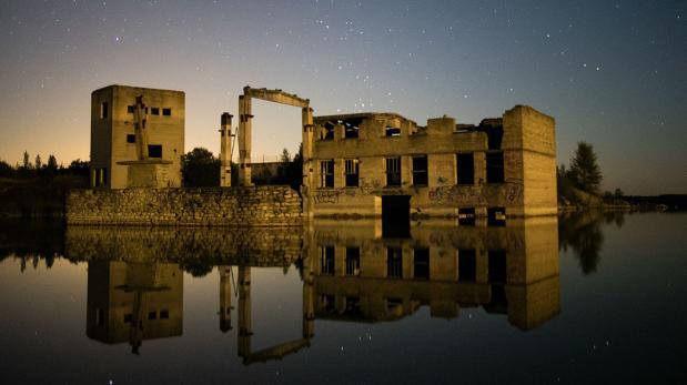 La prisión de Rummu, el paraíso para los amantes del buceo