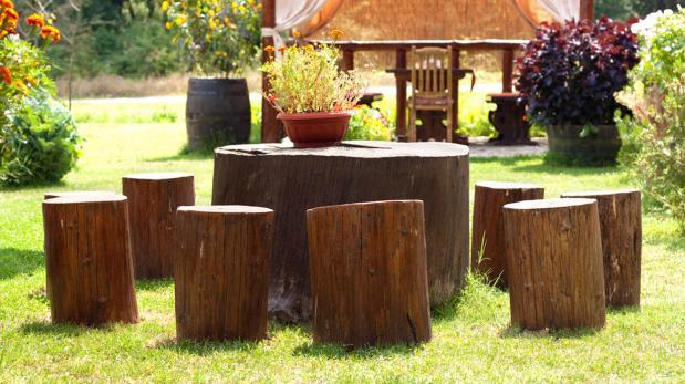 Cinco detalles con troncos que te encantará tener en casa